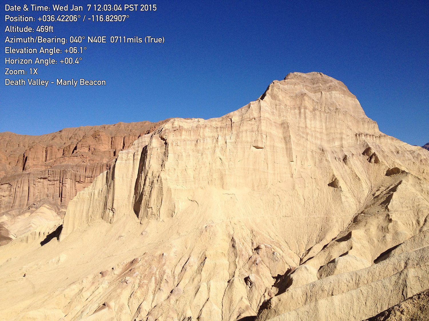 Death Valley: Manly Beacon